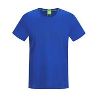HUGO BOSS 雨果博斯 50371769 424 L 男士棉质印花休闲短袖T恤