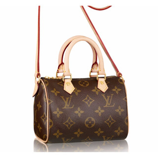 LOUIS VUITTON 路易威登 NANO SPEEDY 迷你单肩包