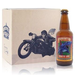 LOST COAST 迷失海岸 机械大鲨鱼 小麦IPA啤酒 355ml*6瓶