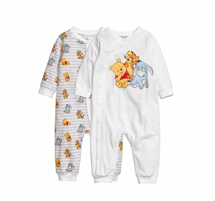 H&M  HM0422607 婴儿睡衣套装 2件装