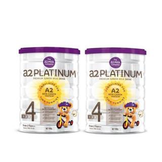 A2 艾尔  Platinum酪蛋白婴儿奶粉 4段 900g  *2件
