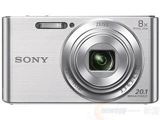 学生专享 : SONY 索尼 DSC-W830 数码相机 银色
