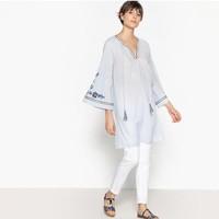 La Redoute Collections 民族风刺绣连衣裙
