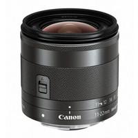 Canon 佳能 EF-M 11-22mm F/4-5.6 IS STM 广角变焦镜头 佳能EF-M卡口 55mm