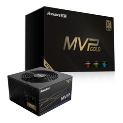 Huntkey 航嘉 MVP K750 额定750W 全模组 电源(80PLUS金牌)