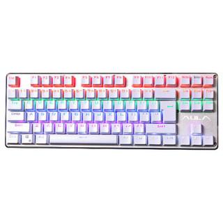 AULA 狼蛛 契约者 RGB青轴机械键盘