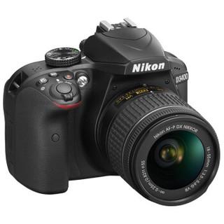 Nikon 尼康 D3400(DX 18-55mm f/3.5-5.6G VR)单反相机套机