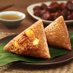 五芳斋 速冻粽子 栗子鲜肉口味 700g (5只) *3件