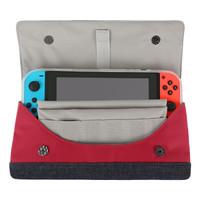 BUBM switch配件包 NS保护包 NX交换机塞尔达包收纳包 switch-HG (红色)