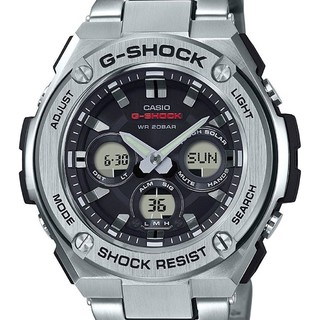 CASIO 卡西欧 G-Shock GSTS310D-1A 男士太阳能腕表