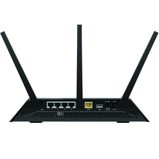 NETGEAR 美国网件  R7000P AC2300M 双频无线路由器 黑色