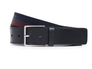 Paul Smith PSMTH31020 男士条纹织带腰带