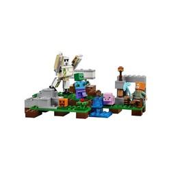 LEGO乐高 我的世界系列钢铁巨人 积木益智玩具 208颗粒 21123 8岁+