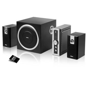 双十一预售: 漫步者 C2  多媒体音箱 黑色 (需定金50元,需凑单,11日0点付尾款)