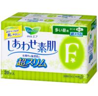 Laurier 乐而雅 F系列 进口卫生巾 安心日用22.5cm*20片 *3件