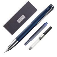 凌美LAMY Studio演艺系列男女商务送礼礼品钢笔 帝国蓝礼盒套装(含EF尖钢笔1支、吸墨器1支、墨水胆1支)
