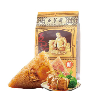 WU FANG ZHAI 五芳斋 蛋黄鲜肉粽 140g*2只