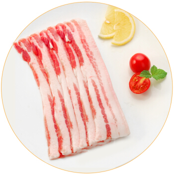 双汇 猪五花肉片 300g