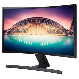 SAMSUNG 三星 S24E500C 23.6英寸 LED背光曲面显示器 (1920 x 1080、4000R)