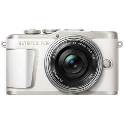 OLYMPUS 奥林巴斯 E-PL9 无反相机套机(14-42mm f/3.5-5.6镜头) 白色