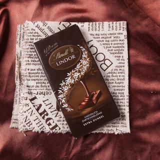 Lindt 瑞士莲 软心系列 黑巧克力排块 (100g)