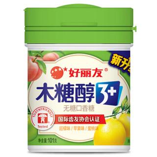 Orion 好丽友 木糖醇3+ 无糖口香糖 超檬苹果蜜桃味 101g