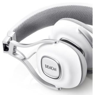 DENON 天龙 AH-MM200WT 头戴式耳机 白色