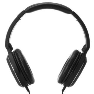 audio-technica 铁三角 ATH-WS70 头戴式动圈耳机 黑色
