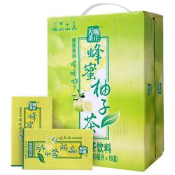 天喔茶庄 蜂蜜柚子茶 250ml*16盒