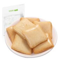 三只松鼠 休闲零食 小包装原味 老爹鱼豆腐180g/袋 *12件