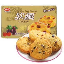 广合 软趣 软式甜饼樱桃红提口味 80g *16件