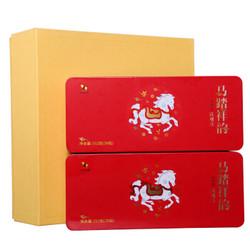 八马茶业 茶叶 乌龙茶清香型铁观音 安溪原产 马踏祥韵礼盒装 504g *2件