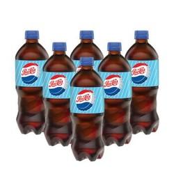 PEPSI 百事 40/50/60年代纪念可乐 碳酸饮料 600ml*6瓶装 *2件