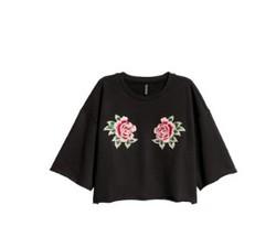 H&M DIVIDED 0591094 女士短袖卫衣
