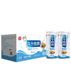 养元六个核桃 易智养元核桃乳植物蛋白饮料 180ml*8罐 整箱装
