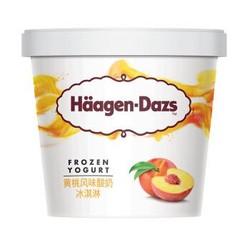 Häagen·Dazs 哈根达斯 酸奶冰淇淋 黄桃风味 100ml *6件