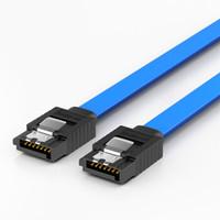 SAMZHE 山泽 3UL-05B 高速SATA3代双通道硬盘数据线 0.48米