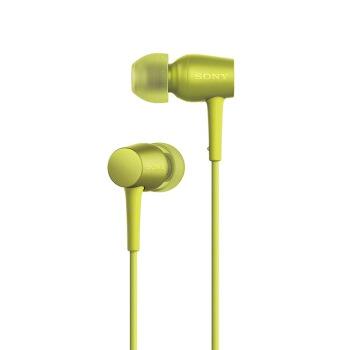SONY 索尼 MDR-EX750AP 立体声耳机 柠檬黄