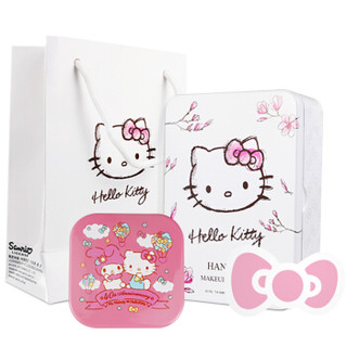 Hello Kitty 凯蒂猫 KT1502 便携充电宝化妆镜 4000mAh
