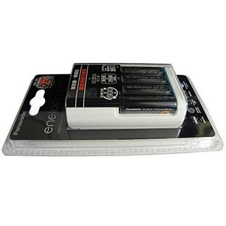 Panasonic 松下 eneloop 爱乐普 K-KJ16HCC40W 5号 智能极速充电器