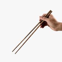 当当优品 鸡翅木加长火锅筷 30cm 5双装