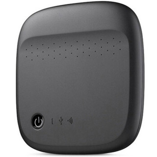 SEAGATE 希捷 无线移动存储硬盘 500GB 黑色