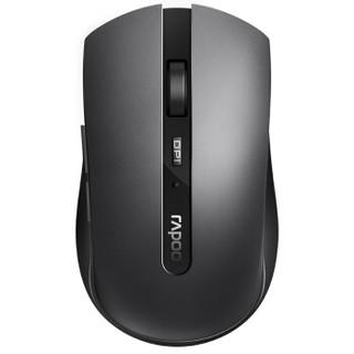 RAPOO 雷柏 7200M 鼠标 (灰色、无线、蓝牙)