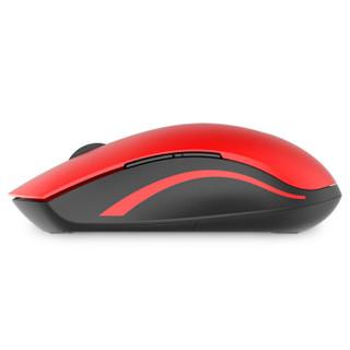 RAPOO 雷柏 7200M 鼠标 (红色、无线、蓝牙)