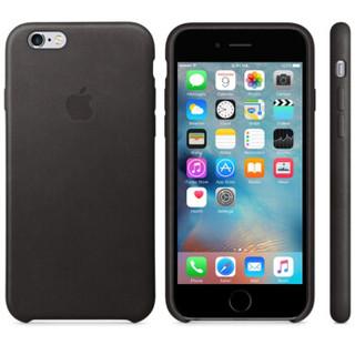 Apple 苹果 MKXF2FE/A iPhone 6s Plus 皮革保护壳 黑色