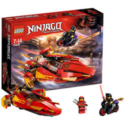 LEGO乐高凯的KatanaV11火元素忍者飞船 70638
