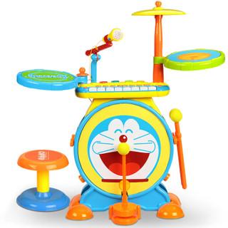 Doraemon 哆啦A梦 爵士鼓 儿童架子鼓