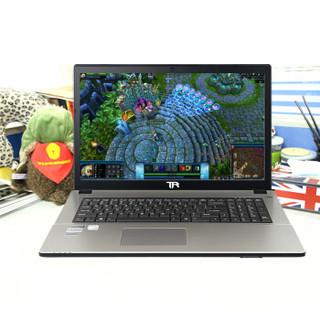ThundeRobot 雷神 G170S G170S银战版Ⅱ 17.3英寸笔记本电脑(香槟金、i7-6700HQ、8G、1TB、英伟达Geforce GTX950M)