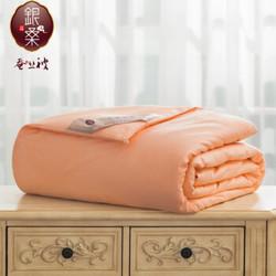 银桑蚕丝被 精品型 龙凤图案粉色