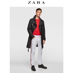 ZARA 男装 侧边带饰舒适型长裤 05862408250
